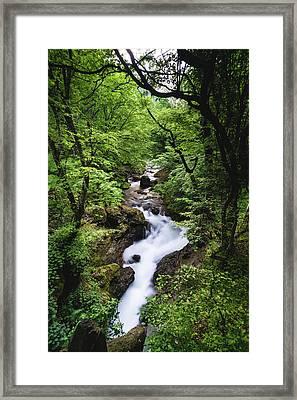 Bela River, Balkan Mountain Framed Print