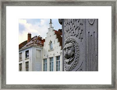 Belgian Coat Of Arms Framed Print
