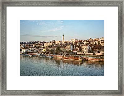 Belgrade Cityscape Framed Print