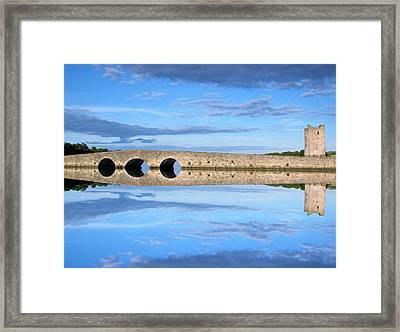 Belvelly Castle Reflection Framed Print