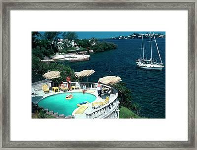 Bermuda Idyll Framed Print