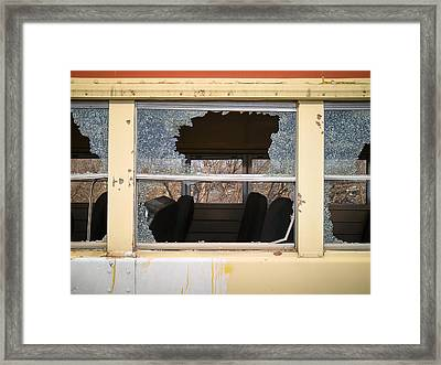 Framed Print featuring the photograph Better Days by Carl Young