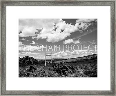 Beyond Here / The Chair Project Framed Print