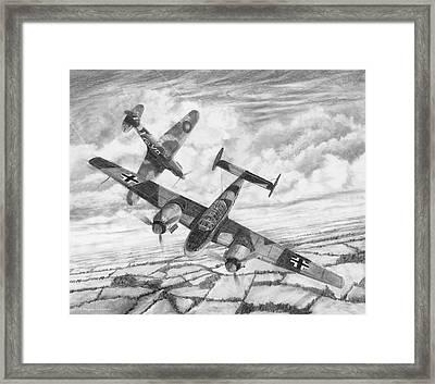 Bf-110c Zerstorer Framed Print