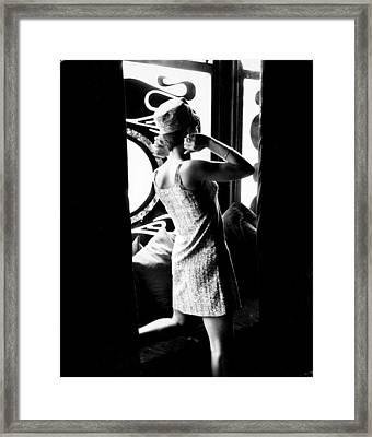 Biba Style Framed Print by Stephan C Archetti