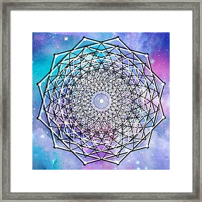 Framed Print featuring the digital art Big Bang by Bee-Bee Deigner