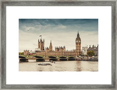 Big Ben And The Parliament In London Framed Print by Knape