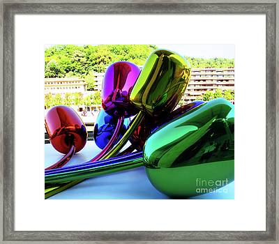 Bilbao Bouquet Framed Print