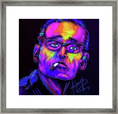 Bill Evans Framed Print