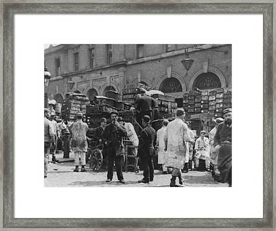Billingsgate Framed Print by Paul Martin