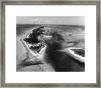 Bimini Aerial Framed Print by Pictorial Parade
