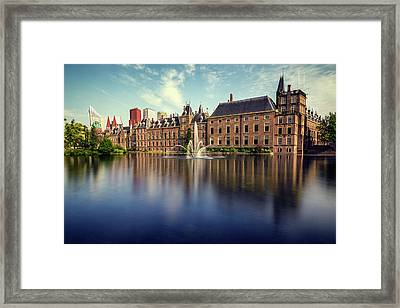 Binnenhof, The Hague Framed Print