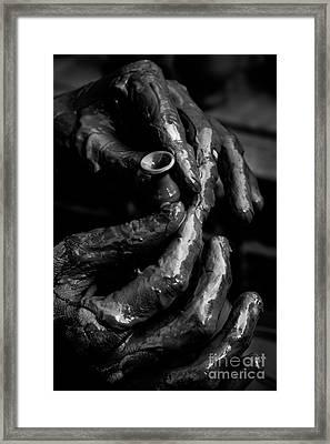 Birth Of A Clay Pot Framed Print