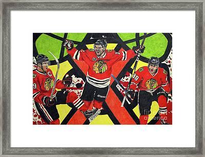 Blackhawks Authentic Fan Limited Edition Piece Framed Print