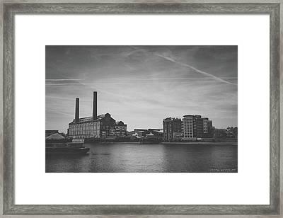 Bleak Industry Framed Print