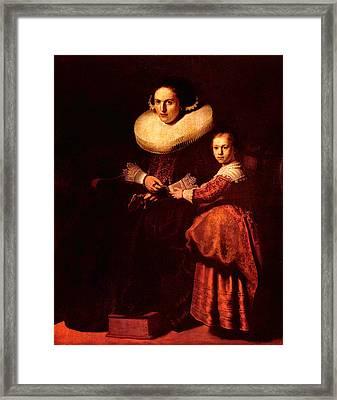 Blend I Rembrandt Framed Print