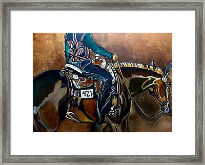 Bling My Ride Framed Print