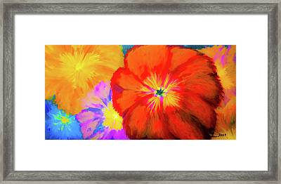 Bloom 2 Framed Print