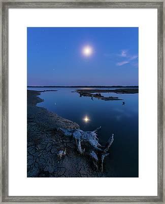Blue Moonlight Framed Print