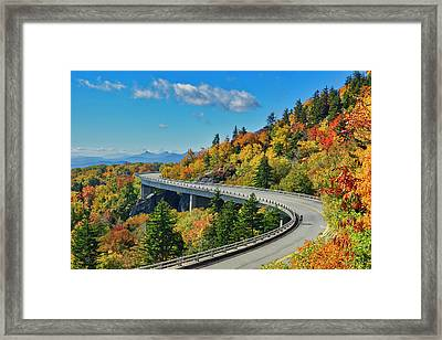 Blue Ridge Parkway Viaduct Framed Print