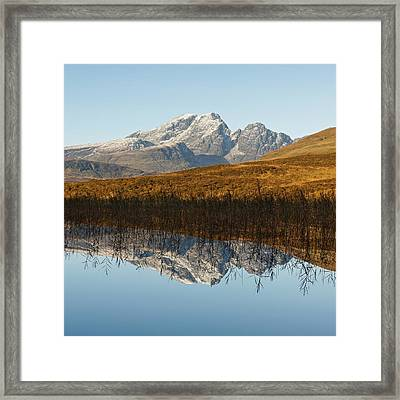 Framed Print featuring the photograph Blue Skye by Stephen Taylor