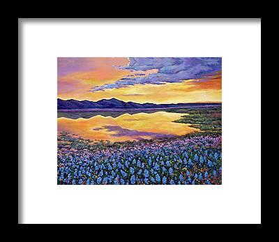 Wildflower Framed Prints