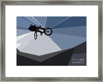 Bmx Biking  Framed Print