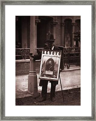 Board Man Framed Print by John Thomson