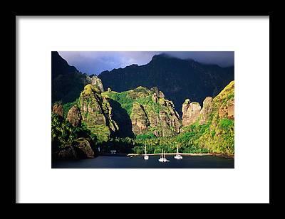 Fatu Hiva Framed Prints