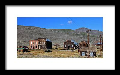 Ghost Towns Framed Prints