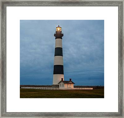Bodie Island Lighthouse  Framed Print