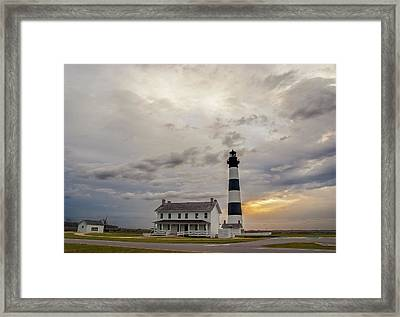 Bodie Island Lighthouse No. 2 Framed Print