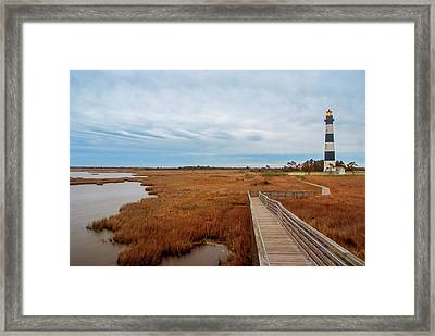 Bodie Island Lighthouse No. 3 Framed Print