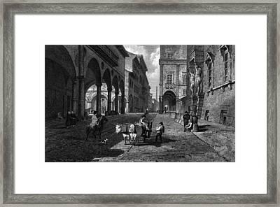 Bologna Main Street Framed Print by Hulton Archive