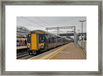 Bombardier Class 387 Electrostar Commuter Train Framed Print
