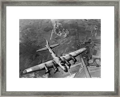 Bombing Run Framed Print by Hulton Archive