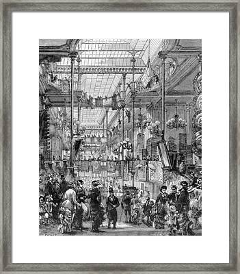 Bon Marche Framed Print by Fotosearch