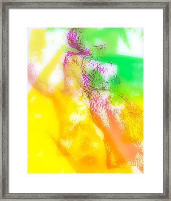 Boreas Kidnaps Oreithya Framed Print