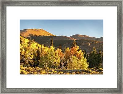 Boreas Mountain Framed Print