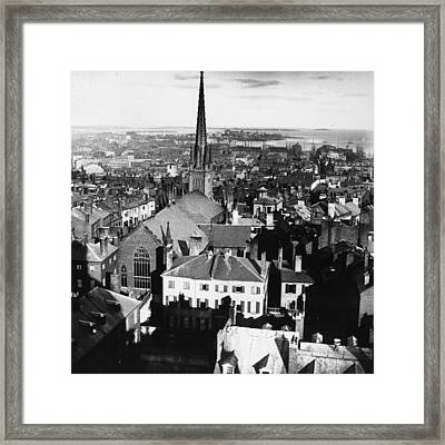 Boston Church Framed Print by William England