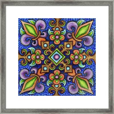 Botanical Mandala 3 Framed Print
