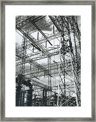 Boulder Dam Power Units, 1941 Framed Print by Archive Photos