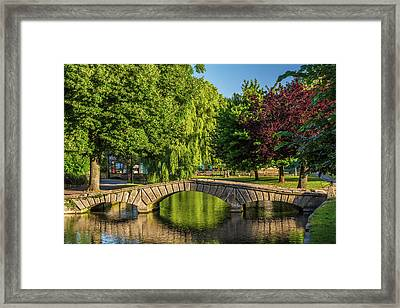 Bourton-on-the-water, Gloucestershire Framed Print by David Ross