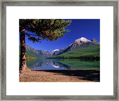 Bowman Lake Framed Print