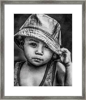 Boy-oh-boy Framed Print