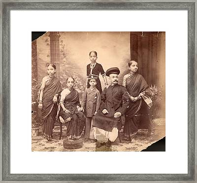 Brahmin Framed Print by Hulton Archive