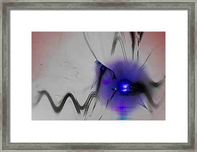 Break Away Framed Print