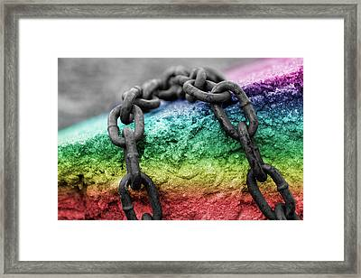 Breaking The Chains Framed Print