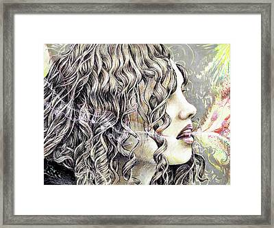 Breath Framed Print
