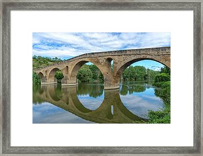 Bridge The Queen On The Way To Santiago Framed Print